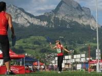 Damenriege am Kant. Turnfest Schwyz - Fachtest - Beach