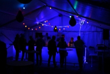 Ein Blick hinter die Kulisse - Bar